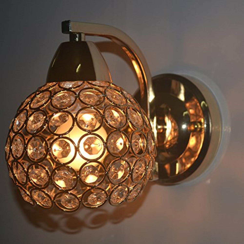 StiefelU LED Wandleuchte nach oben und unten Wandleuchten Schlafzimmer sind Leiter der Goldene Kristall Wandleuchte
