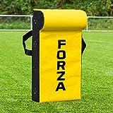 Net World Sports Escudo de Rugby/Fútbol Americano   Saco de Placaje para Entrenamientos (Variedad de Tamaños) (Cuña Superior, Junior)
