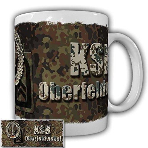 KSK Tasse Oberfeldwebel der Kommando Spezialkräfte Dienstgradabzeichen Bundeswehr Alfashirt#20923