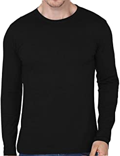 T-Shirts Round Neck Cotton Full Sleeve - L