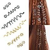 6 Pcs Hair Accessories Loc Hair Jewelry for...