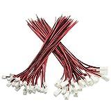 XLX 50pcs 25par min Micro JST XH2.542pines hembra y macho Conexión Enchufe con rojo negro...