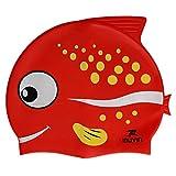Touca natação Infantil Muvin - Peixe Vermelho