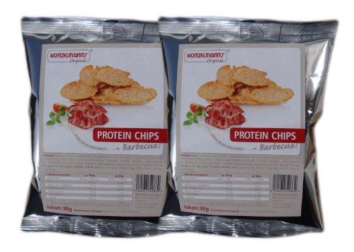 Konzelmanns Original - Protein Chips BBQ - 2 x 30g