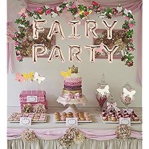 3 pcs fairy party balloon fairy party decoration fairy party favors fairy garden decoration for fairy theme birthday wedding decoration