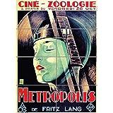 PANEL ART PRINT CINEMA FILM METROPOLIS FRITZ LAND DYSTOPIAN