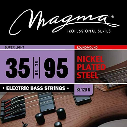 Magma Electric Bass Minneapolis Mall Strings Super Light - Ro trust Plated Nickel Steel