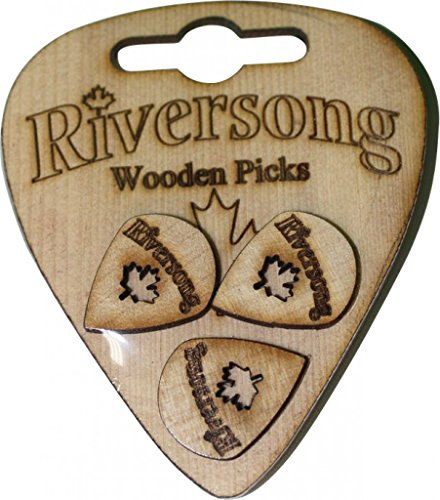Riversong Gitarren rs-3pak Jazz Holz Plektrum Plektron Picks, 2 mm Jazz