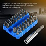 Kit de puntas de destornillador 33pcs / set Herramienta de reparación de puntas de destornillador para equipos de máquinas