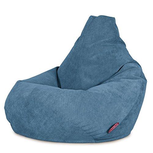 Lounge Pug, Gaming Sitzsack Sessel, Waffelgewebe Türkis