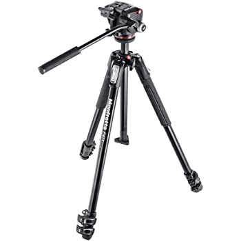 Includes Carry Bag and Universal Smartphone Mount Ravelli APTL3 53 Lightweight Aluminum Tripod