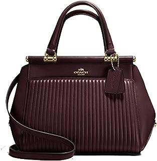 Coach Grace Quilt Satchel Leather Bag Handbag