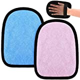 2 Pieces Beach Sand Cleaning Mitt Beach Sand Cleaner Mitt Wipe Off Mitt for Beach Volleyball Sandboxes Beach Events Water Activities Sand Occasion