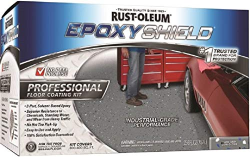 Rust-oleum 238467 Epoxyshield Professional Semi-Gloss Floor Coating Kit, 2 Gallon