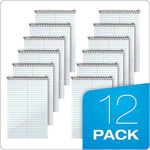"""TOPS Second Nature Steno Books, 6"""" x 9"""", Gregg Rule, 80 Sheets, 12 Pack (74688) Photo #5"""