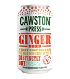 Cawston Press Sparkling Ginger Beer, 11.15 Ounce Cans (Pack of 24)