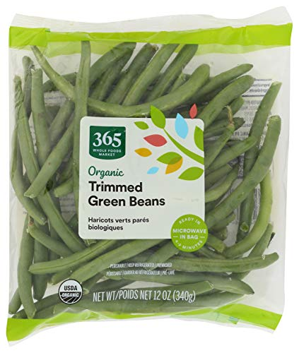 365 by Whole Foods Market, Packaged Vegetables, Green Beans - Trimmed, 12 Ounce