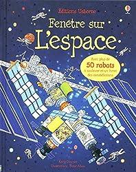 Livre à rabats Fenêtre sur - L'espace - Cahiers d'activités sur l'espace