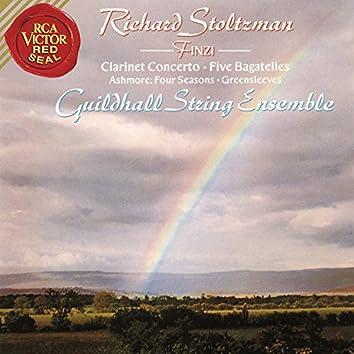 Finzi: Bagatelles, Op. 23 & Clarinet Concerto in C-Minor, Op. 31 & Ashmore: Four Seasons