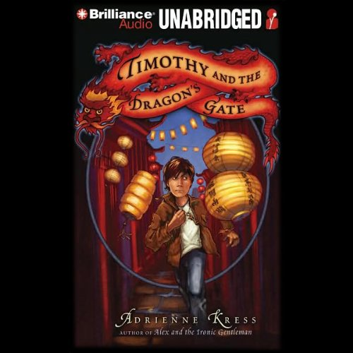 Timothy and the Dragon's Gate audiobook cover art