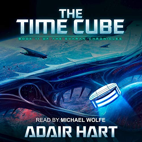 The Time Cube Audiobook By Adair Hart cover art