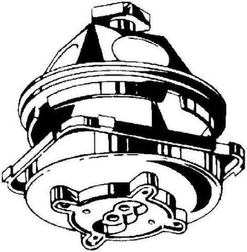 Kaiser–Deckenleuchte 45Schmuckkasten Ausgang Durchmesser 35mm