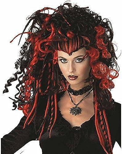Deluxe schwarz Widow Wig by Palmer