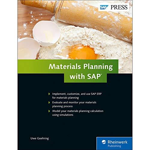 Materials Planning with SAP ERP (SAP MRP) (SAP PRESS)
