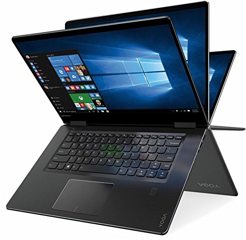 2018 Lenovo Newest Yoga 710 2-in-1 15.6' FHD Touchscreen Flagship Laptop, Intel Core i5-7200U, 16GB RAM, 256GB SSD, Aluminum Chassis, Fingerprint Reader, HDMI, Stereo Speakers, Windows 10 Home