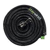 STAYWIRED flexibler Kabelmantel mit Reißverschluss 80 cm schwarz, elegantes Kabelmanagement für bis zu 10 Kabel