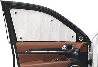 2-Piece Set for 2014-2018 Ford Transit Auto Ventshade 92676 Original Ventvisor Side Window Deflector Dark Smoke