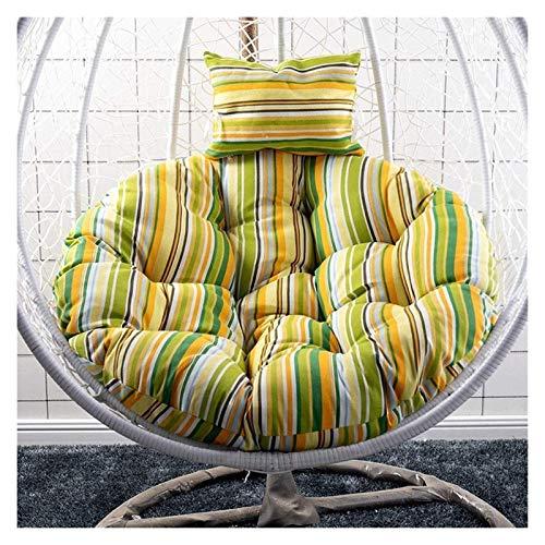 HLZY - Cojines de jardín para sillas de jardín, patio, ratán, silla de mimbre para colgar en silla de huevo, para interiores o exteriores (color: C)