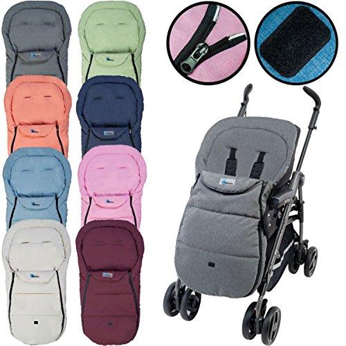 Fußsack Sommerfußsack LIFELINE für Kinderwagen Buggy Kinder Kinderwagenfußsack (Beige)