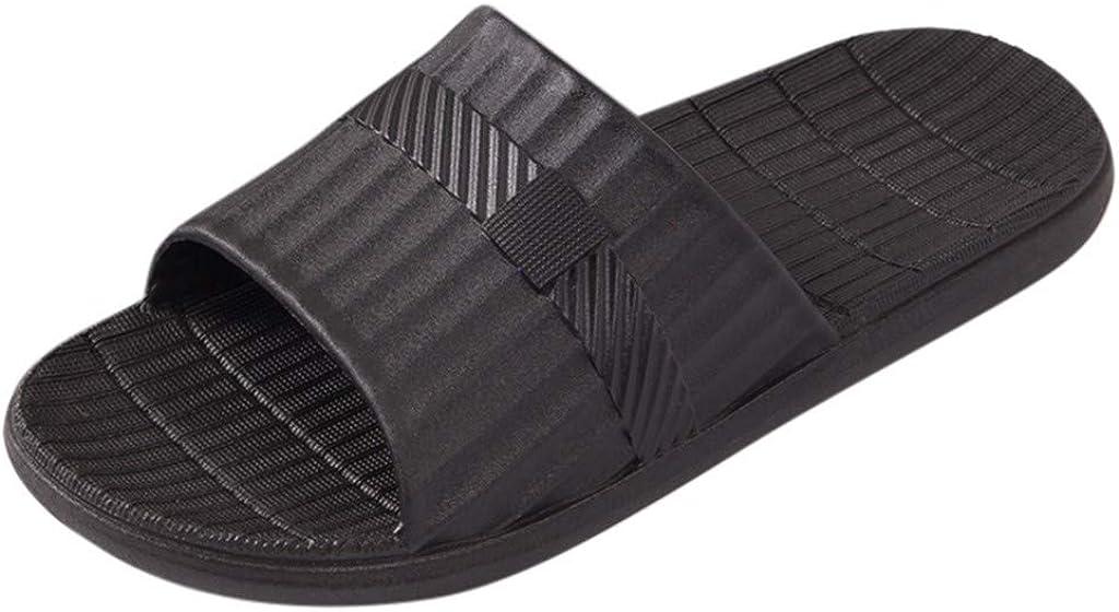 Shower Shoes Bath Slipper Slides Sandal for Women and Mens Bathroom Pool Non-Slip Quick Drying