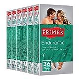 Primex Endurance, preservativi in lattice ritardanti, pacco scorta da 36 pezzi