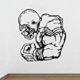 Joueur de Football Affiche Wall Sticker athlète Sport Jeu Rugby Vinyle Autocollants Stickers Home Decor Chambre Salon peintures murales