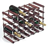 RTA 30 Bottle Traditional Wine Rack-Fully Assembled-Dark Pine (FSC)