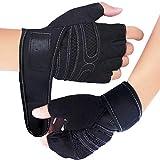 Fitness Handschuhe, Trainingshandschuhe, Gewichtheben Handschuhe für Damen und Herren - Ideal für...