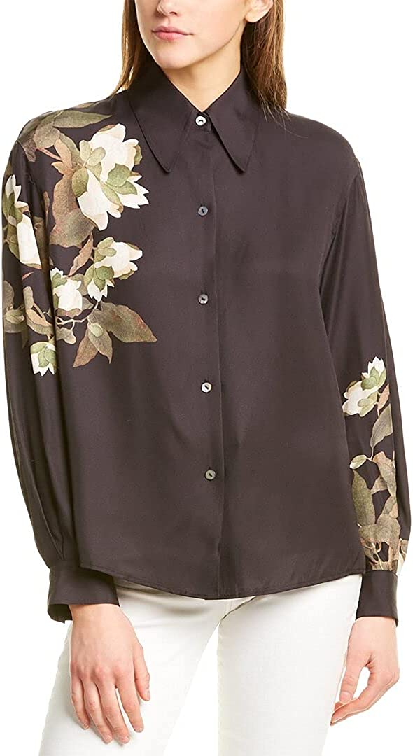 Vince Women's Lisianthus Collared Blouse