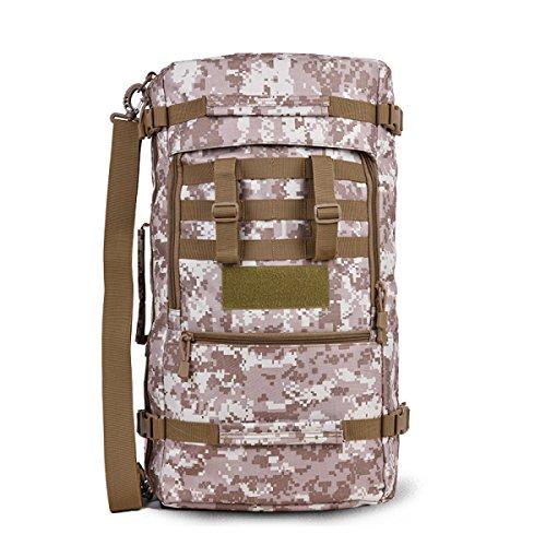 Sac à Dos D'alpinisme Polyvalent Extérieur Sac à Dos Tactique De Camouflage 18L Sac à Dos De Randonnée Imperméable Et Durable,G