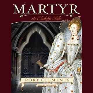 Martyr audiobook cover art
