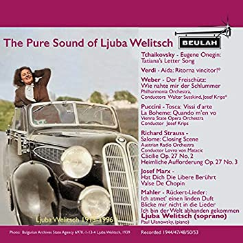 The Pure Voice of Luba Welitsch