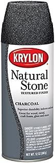 Krylon Natural Stone Aerosol Spray 12 Ounces Charcoal