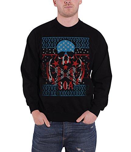 Sons of Anarchy Christmas Jumper Sweatshirt Reaper Nue offiziell Herren