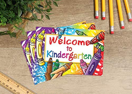 Teacher Created Resources Welcome to Kindergarten Postcards (4860),Multi Photo #4