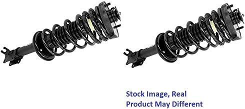 1997 For Ford Escort LX Rear Complete Struts Assembly x 2 (Note: Sedan, Non-ABS)
