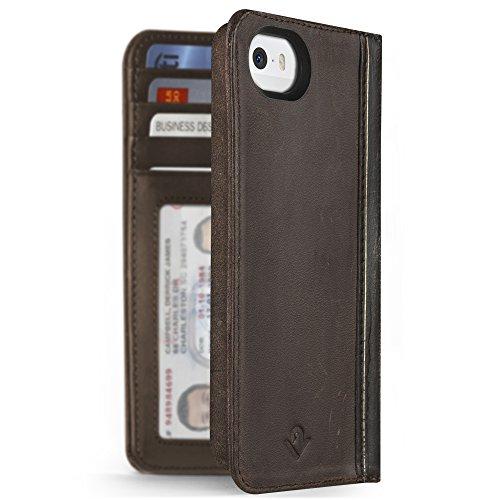 Twelve South BookBook Custodia a Portafoglio Protettiva per iPhone 5/5S