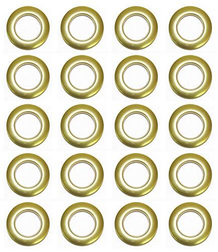Selling Wonderful 1-9/16-Inch Inner Diameter Plastic Curtain Grommets 20-Pack (Champagne)
