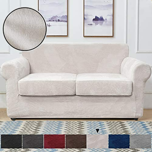 Best RHF Velvet Couch Cover 3 Piece Couch Covers for 2 Cushion Couch Sofa Covers for 2 Cushion Couch Love
