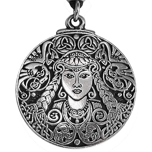 Pepi Large Celtic Goddess Brigid Necklace
